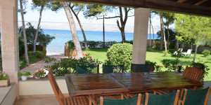 Near beach villa